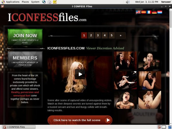 Get Into I Confess Files Free