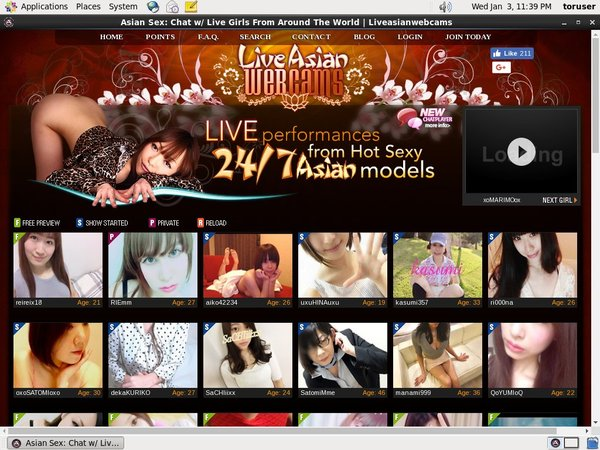 Liveasianwebcams Free Login Account
