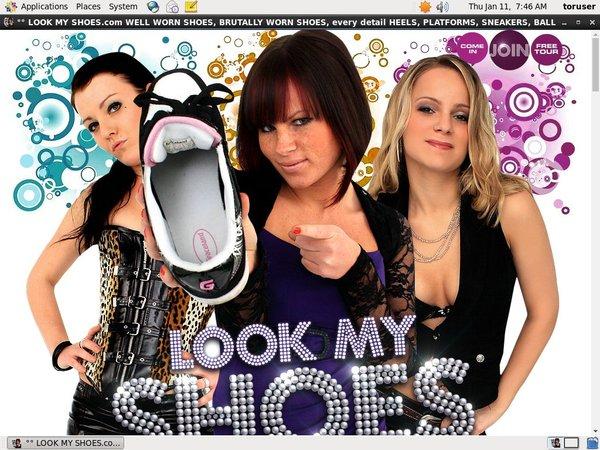 Lookmyshoes.com No Credit Card