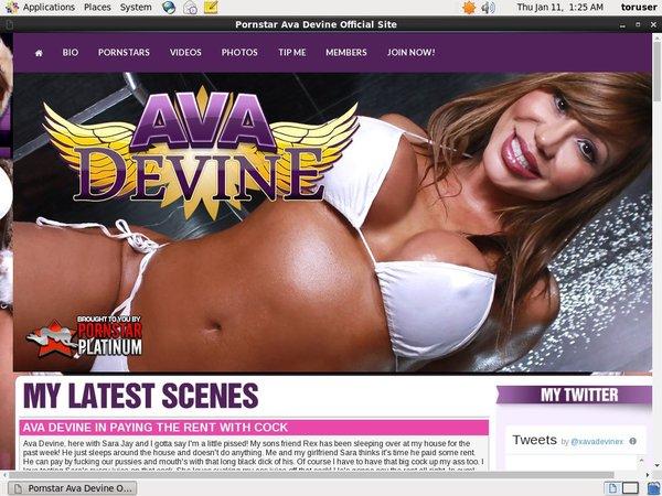 New Ava Devine Password
