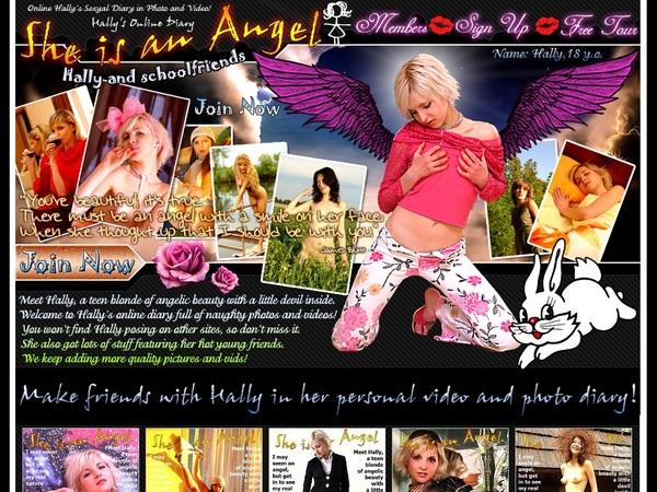 She Is An Angel Premium
