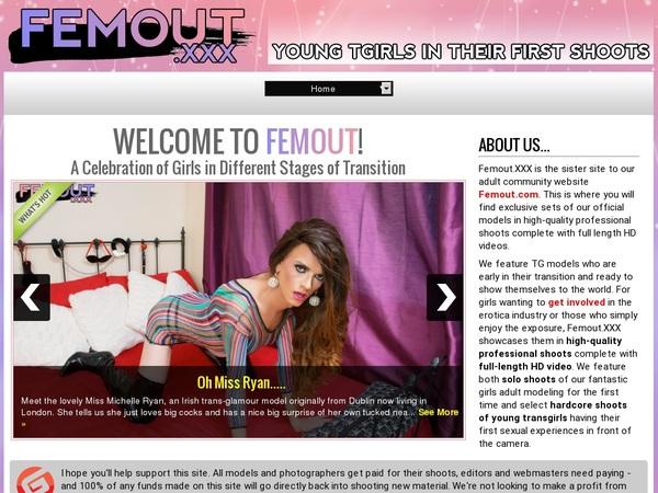Get Femout.xxx Trial