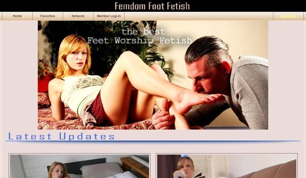 Femdom Foot Fetish Exit Discount