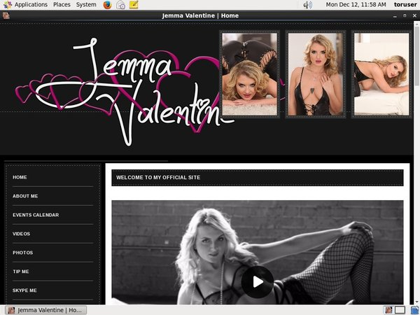 Jemma Valentine Join With SMS