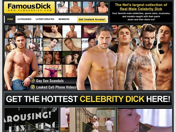Logins Famousdick.com Free