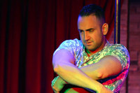 Stockbar male dancers