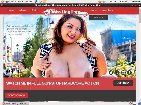 Miss Ling Ling Trial Member