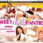 Sweetwhitepanties Checkout Page