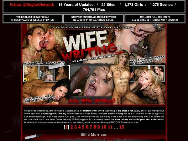 Wifewriting Pic