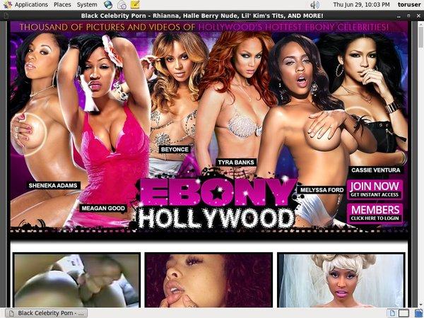 Get Inside Ebony Hollywood