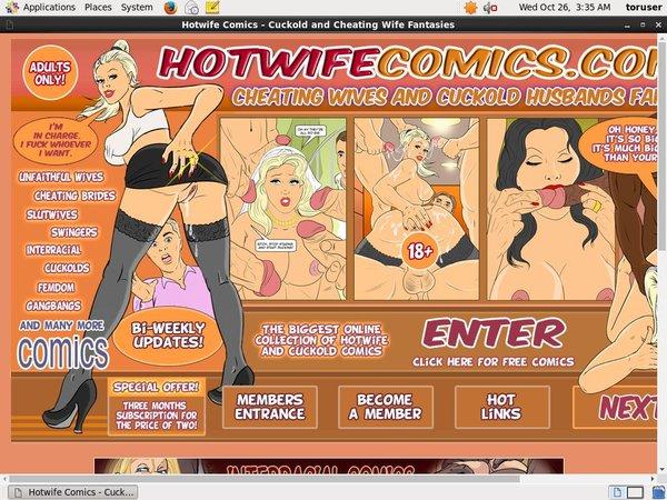 Hotwife Comics Freebies