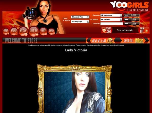 Lady Victoria Account Trial