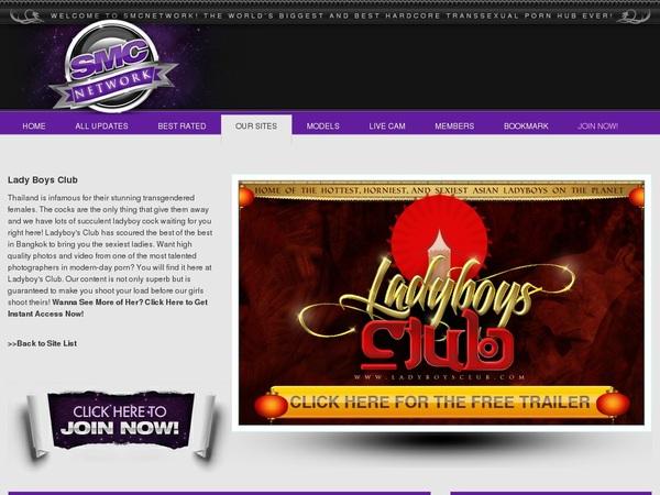 Ladyboysclub.com Discount Monthly