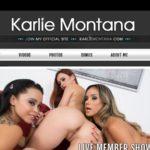Karlie Montana With Amex