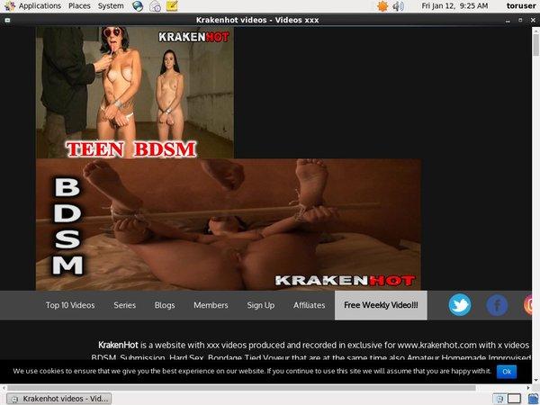 Krakenhot.com Paypal Checkout