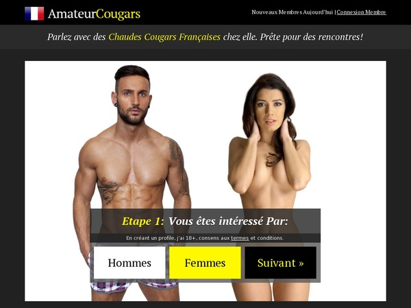 Logins Amateurcougars Free