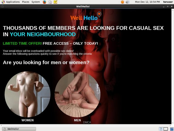 Wellhello Free Trial Join