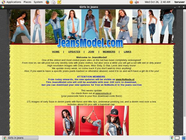Accounts Of Jeansmodel.com