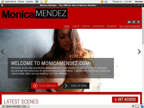 Mobile Monicamendez Account