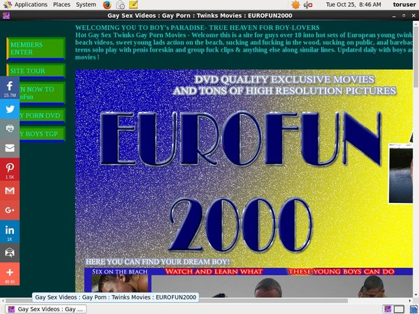 Eurofun 2000 Active Password