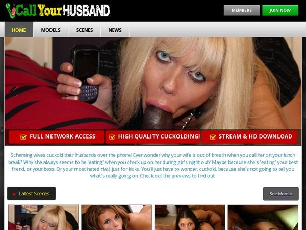 Free Callyourhusband.com Passes
