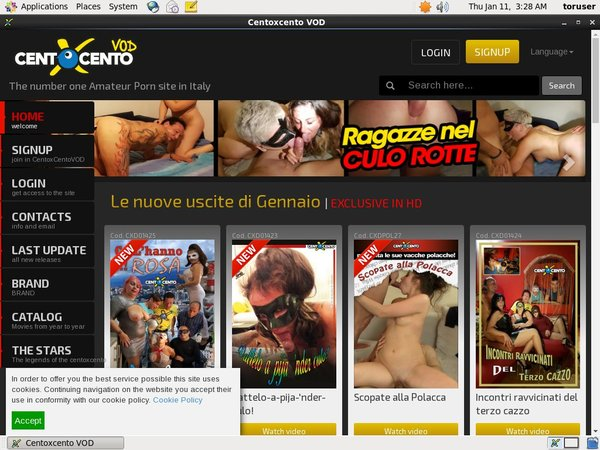Get Free Centoxcentovod Account