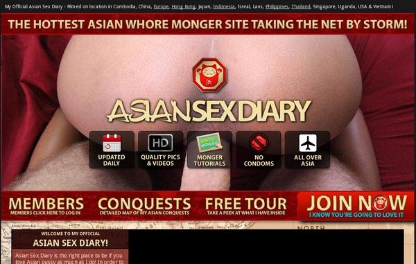 Working Asiansexdiary Login