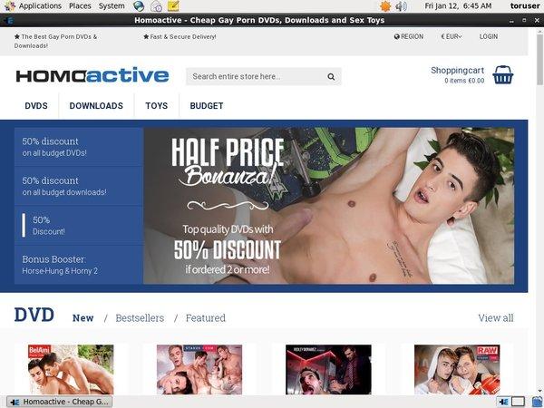 Homoactive.com Buy Points