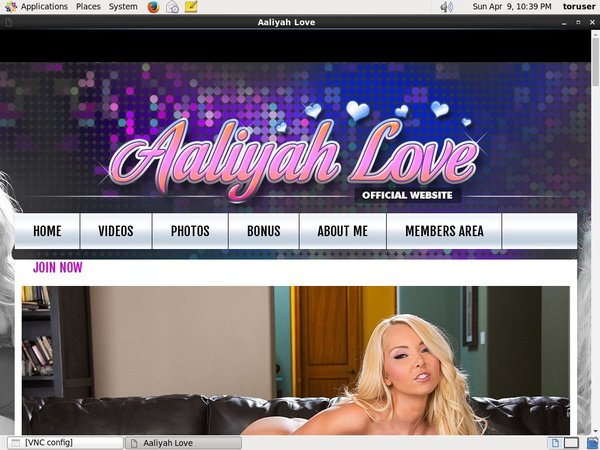 Aaliyahlove Limited Time Discount