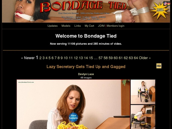 Bondage Tied Trial Pass