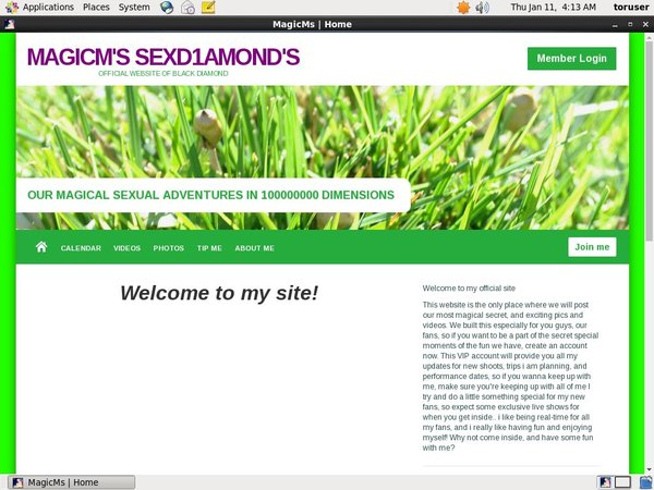 MagicM's SexD1amond's Password Site