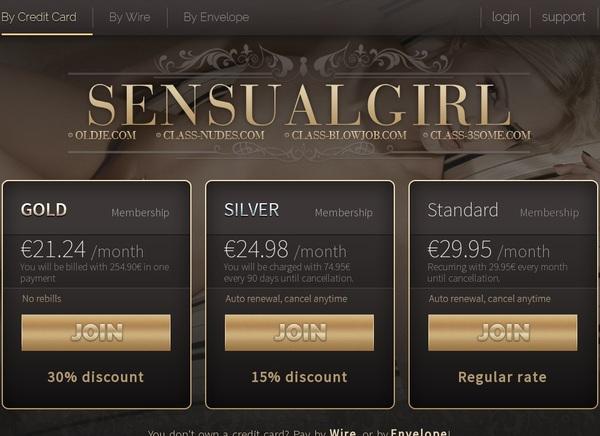 Sensualgirl Coupon Code