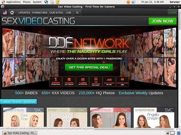 Accounts Sex Video Casting