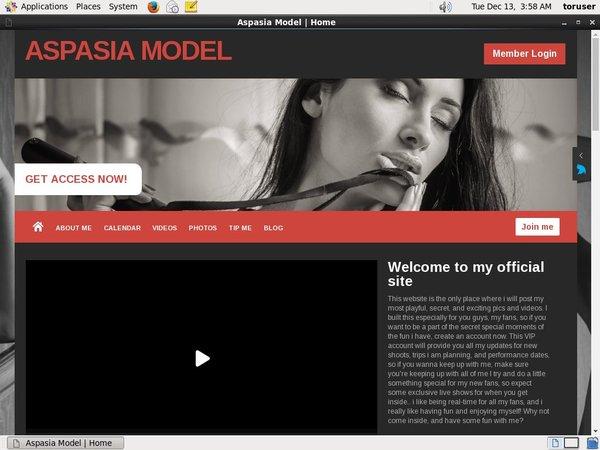AspasiaModel New Discount