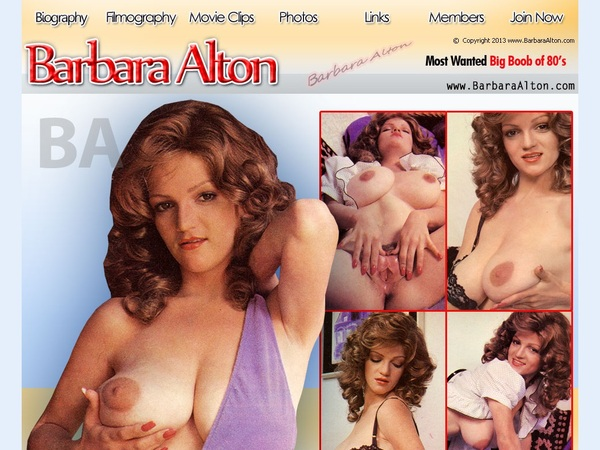 Barbara Alton Free Trial Account