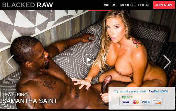 Blacked Raw With European Credit Card
