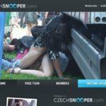 Czech Snooper Paypal Register