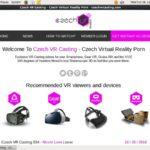 Czech VR Casting Login Password