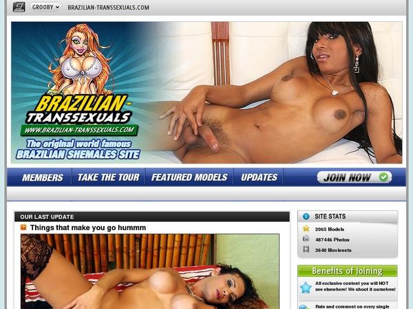 Is Braziliantranssexuals Real
