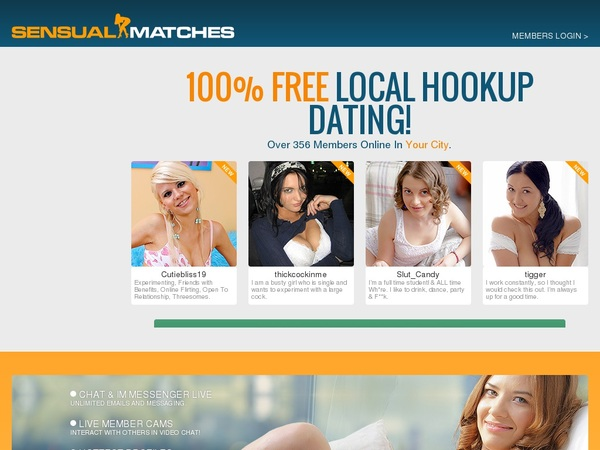 Join Sensualmatches.com Paypal