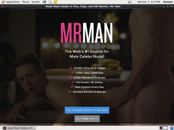 Mr Man Paypal Checkout