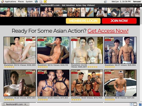 Real Asian BFs Free Premium Accounts