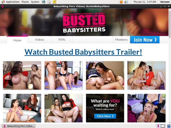 Discount Busted Babysitters Subscription