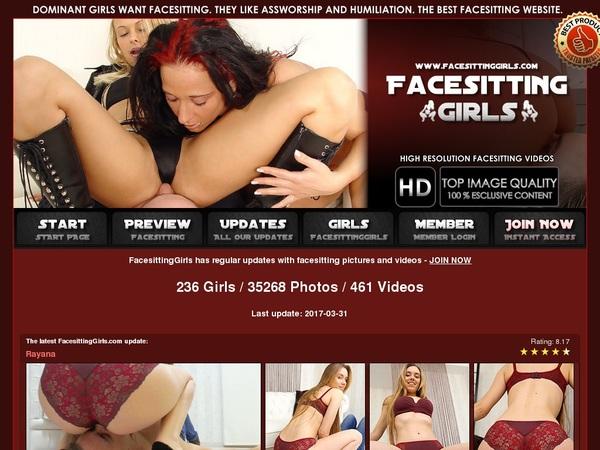 Free Account Facesitting Girls Offer