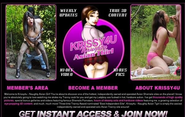 Free Krissy4u.com Pass