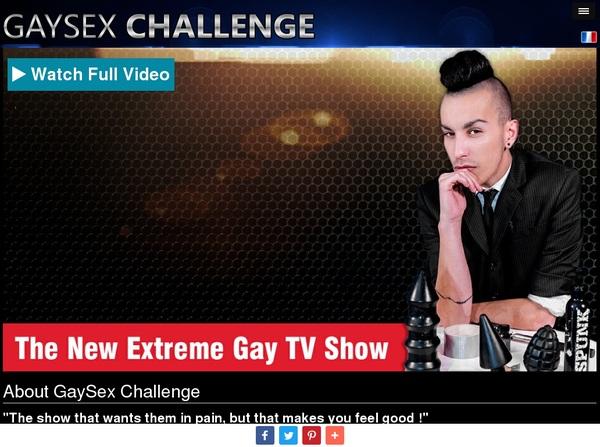 Gaysexchallenge Kennwort