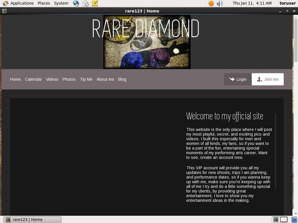 RARE DIAMOND Member Sign Up