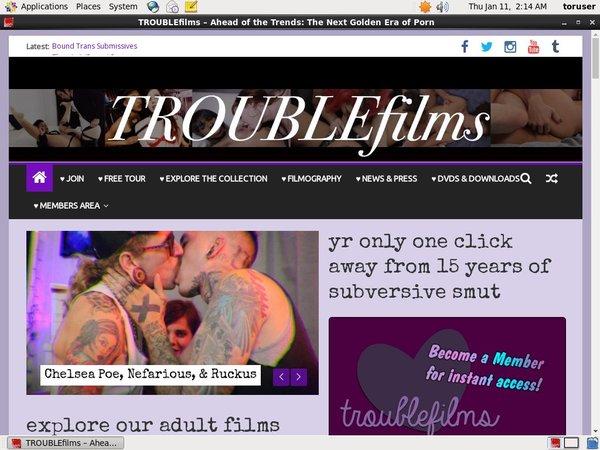 Trouble Films Username Password