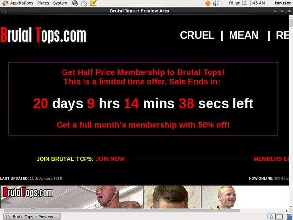 Brutal Tops Get Access