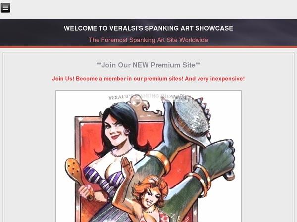Discounted Veralsis Spanking Art Membership